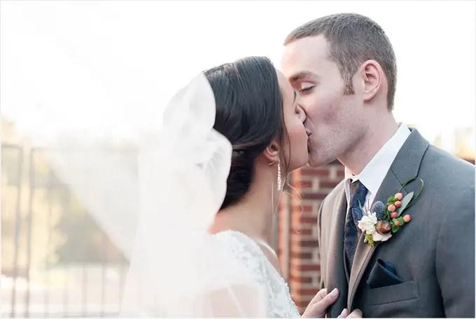 A Stunning Burlington North Carolina Wedding: Rebecca + Braxton - http://emmalinebride.com/real-weddings/a-stunning-burlington-north-carolina-wedding-rebecca-braxton | Michelle Robinson Photography