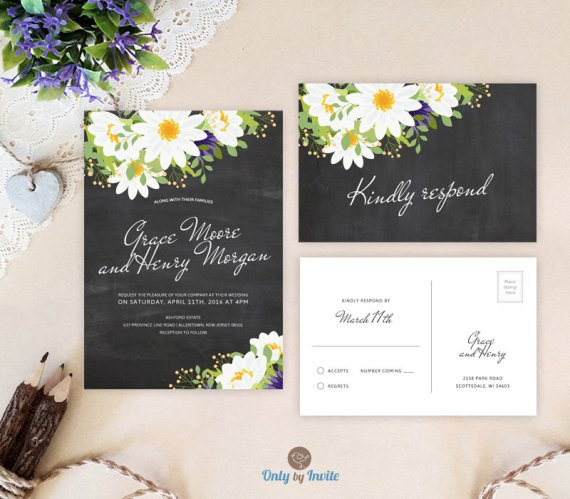 Cheap Wedding Invitations Under 50p