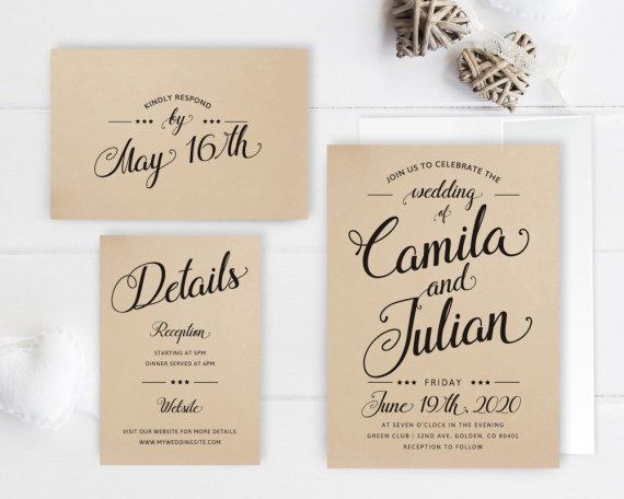 Cheap Wedding Response Cards