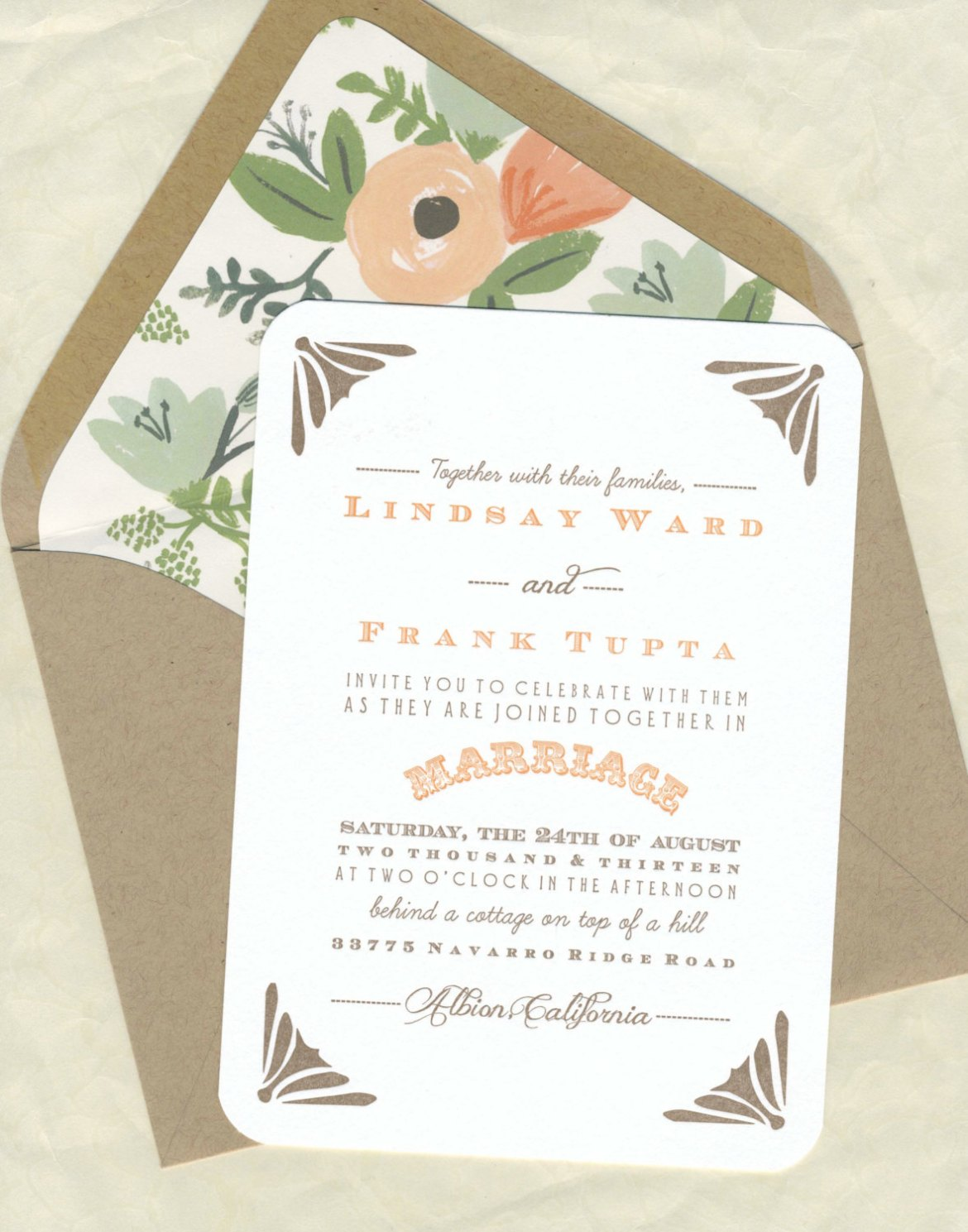 library card save the dates, custom map invitations, wedding invites and more from Foreword Press + Design