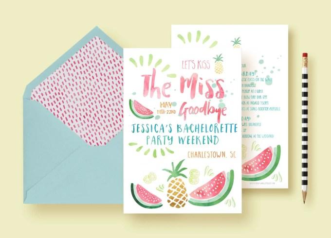 How to Plan a Pineapple Bachelorette Party | Emmaline Bride