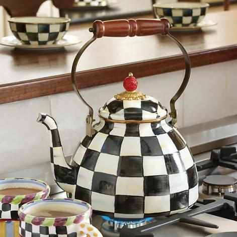 courtly check kettle tea