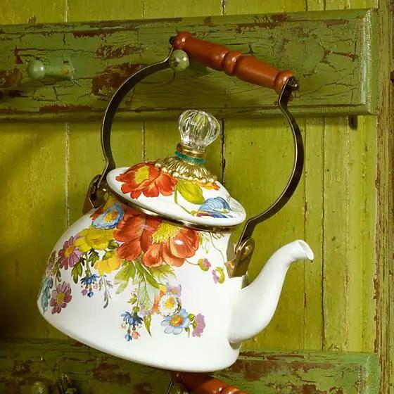 flower market tea kettle 2
