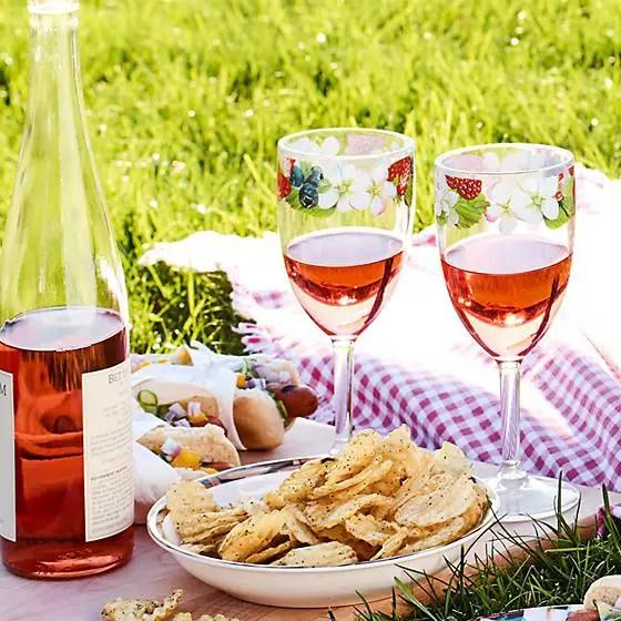picnic glassware