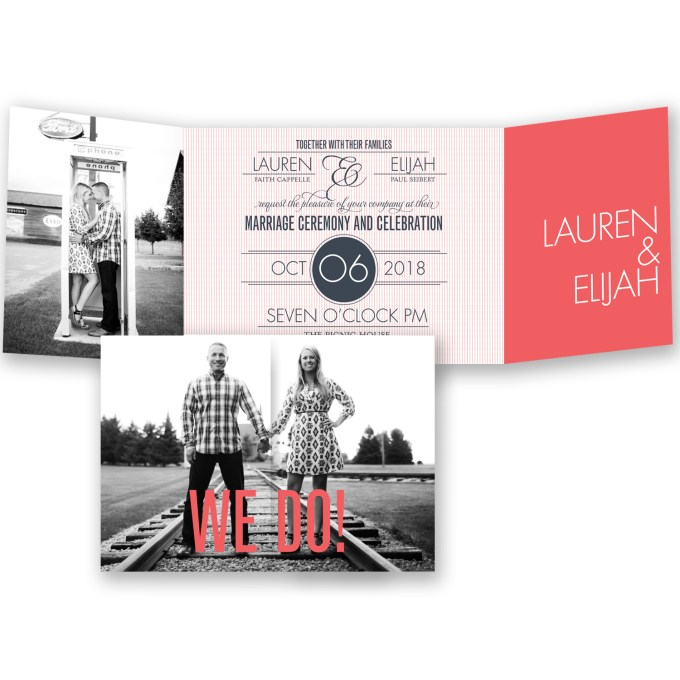 really beautiful fold out wedding invites - where to buy affordable wedding invitations