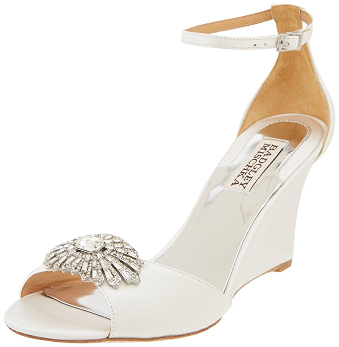 These Comfortable Wedding Shoes Feature A Padded Heel And Adjustable Ankle  Strap For A Perfect Fit. Great Reviews On This One. Get Yours Here.