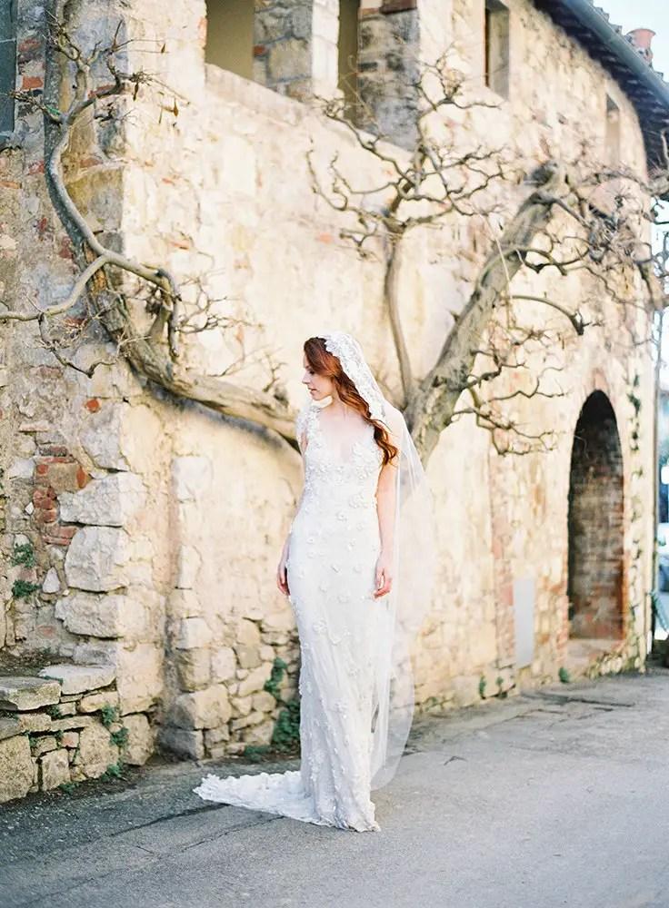 mantilla wedding veil by sibo designs