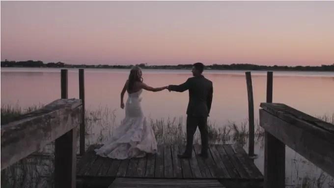 Watch Skylar + Jared's Breathtaking Wedding Film at the Mackay Gardens - http://emmalinebride.com/real-weddings/ mackay-gardens-wedding-film   Baby Blue Film - Florida Wedding Videographer