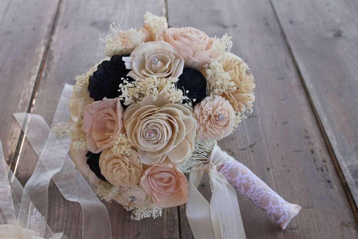 fake wedding bouquets that look real