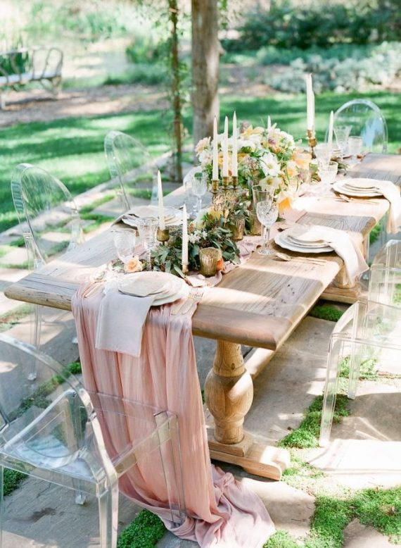 Where to buy chiffon table runners