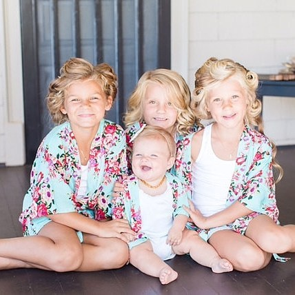 The cutest flower girl robes ever Link in bio! hellip