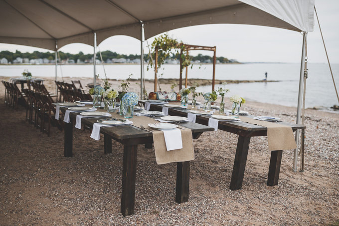 A Beautiful Private Beach Wedding - Milford, Connecticut (Real Weddings) - (milford connecticut beach wedding) - http://emmalinebride.com/real-weddings/milford-connecticut-beach-wedding | Butler Photography, LLC