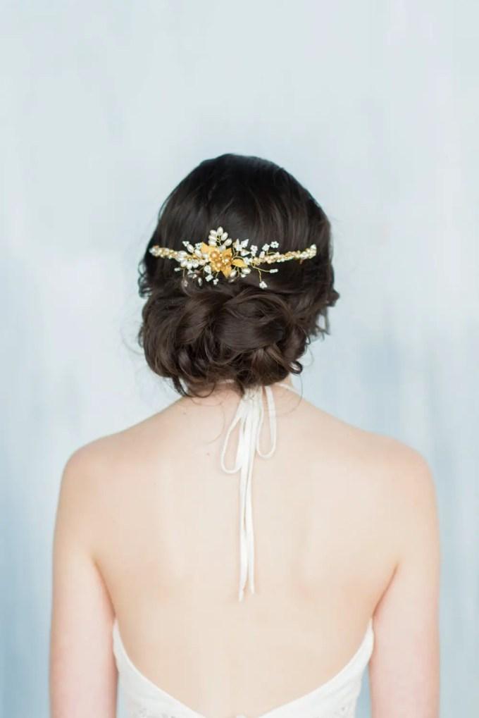 wedding hair vines by blair nadeau millinery