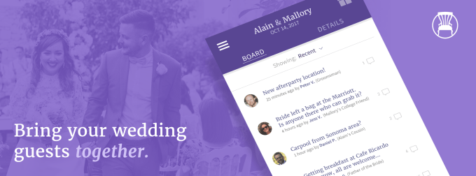 wedding party communication made simple