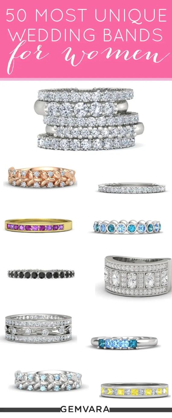 wedding bands for women