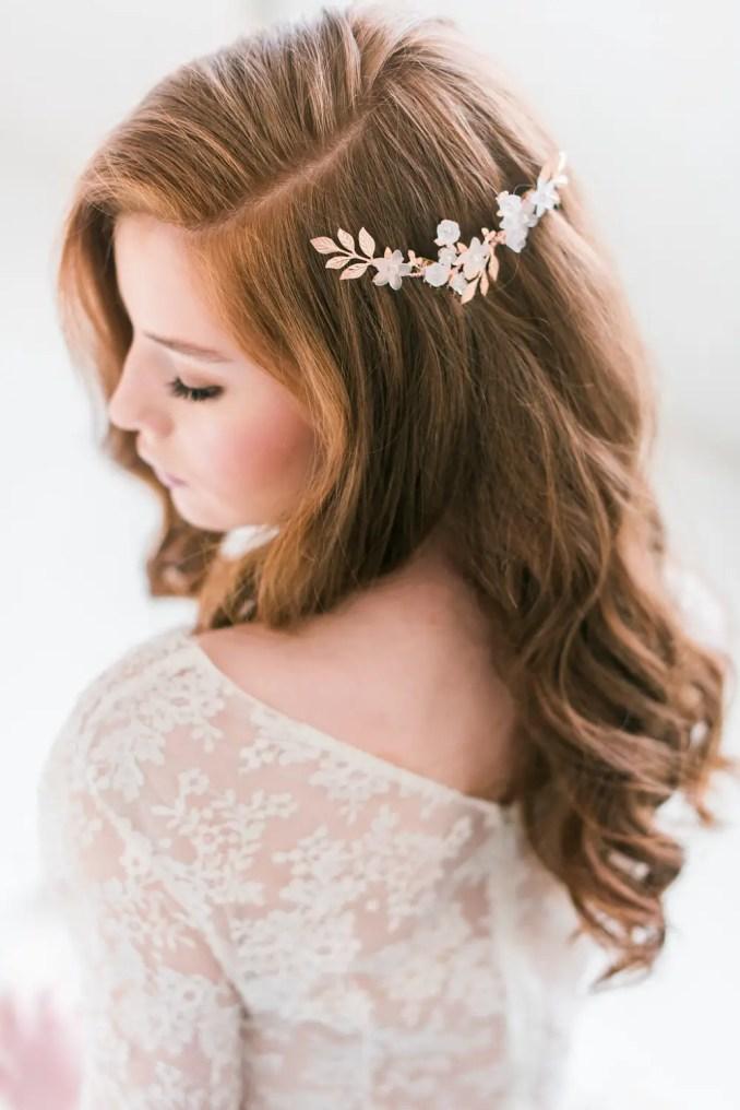 50 best bridal hair combs on etsy for weddings | emmaline bride®