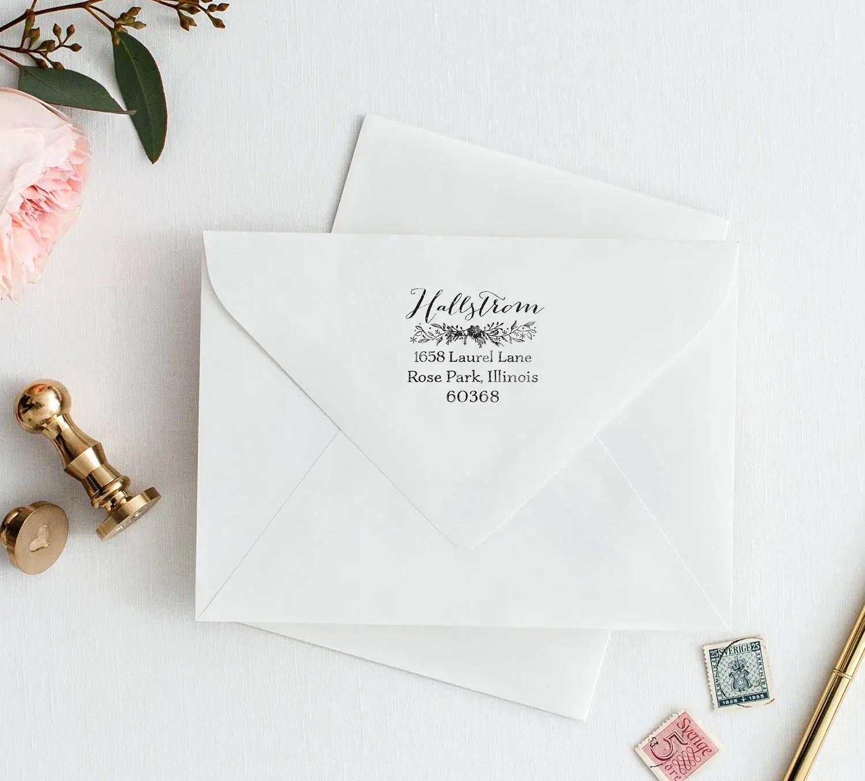 Giveaway: Win a Floral Return Address Stamp! | Emmaline Bride ...
