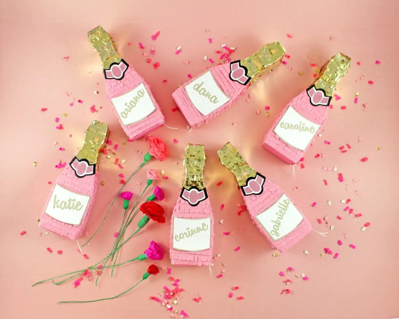 These Champagne Pinatas Make Fun Bridesmaid Proposals - BridalPulse