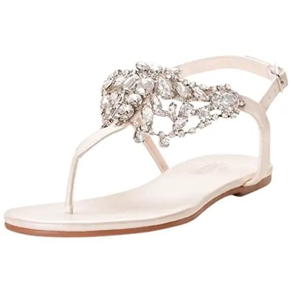 24 beach wedding shoes that will make brides happy emmalinebride best beach wedding shoes for bride junglespirit Gallery