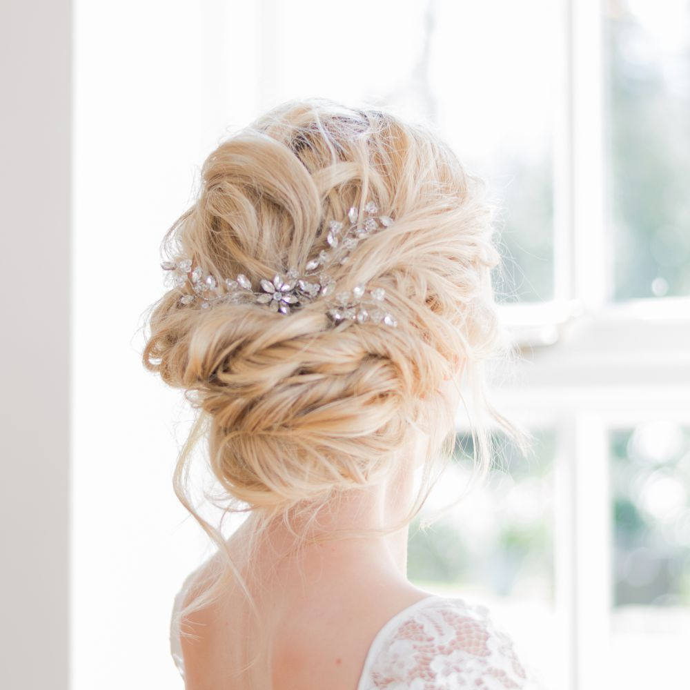 Awesome Up Hairstyles For Wedding Guest Pattern - The Wedding Ideas ...
