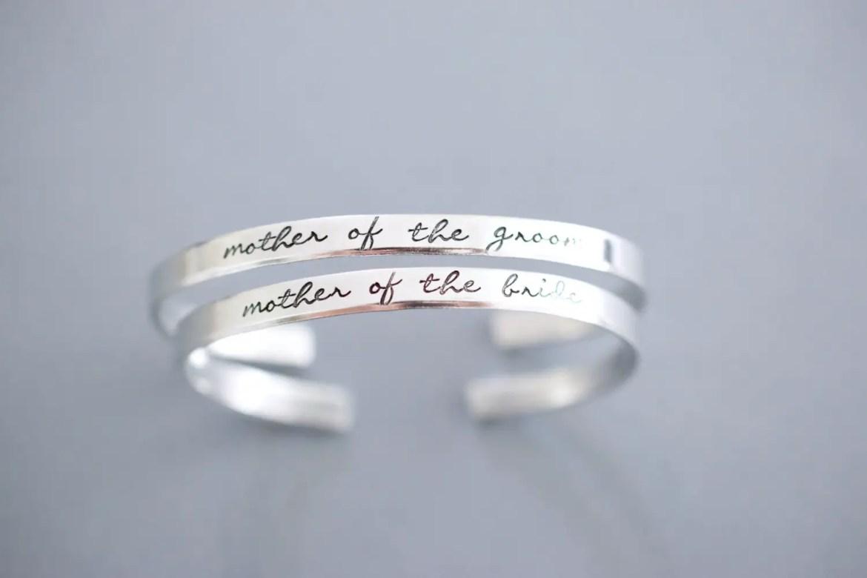 mother of the groom bracelet