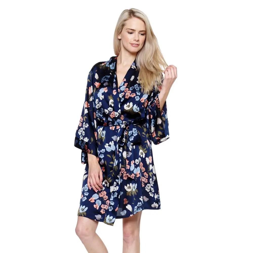 floral print bridesmaid robes via http://etsy.me/2BgeO41