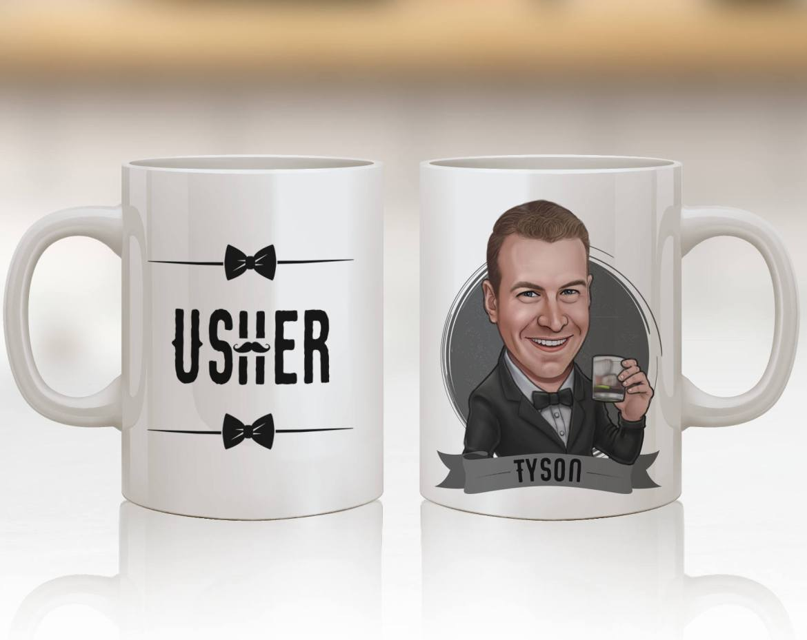 usher gifts