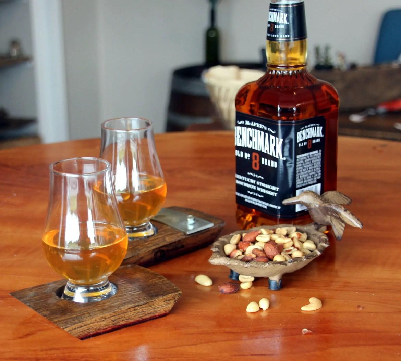whiskey glass coaster set