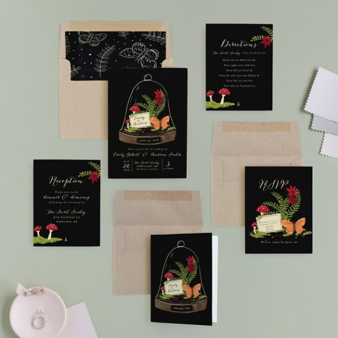 butterfly wedding invitations via http://shrsl.com/zntg