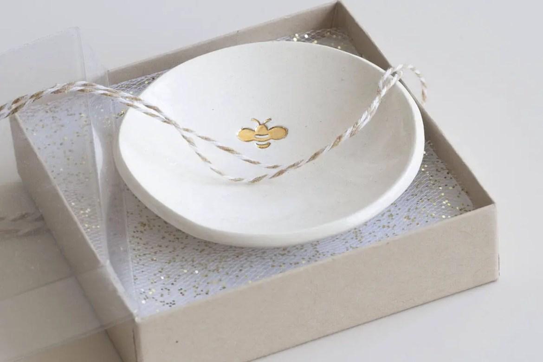 bridesmaid or mrs ring dish