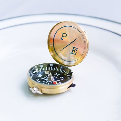 best wedding favors - compass