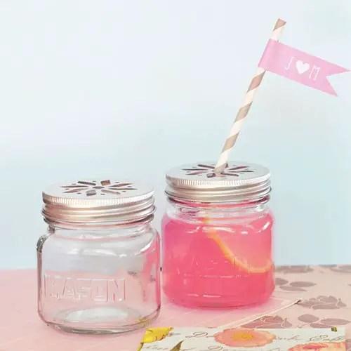 cheap wedding favors mason jar drinking glasses