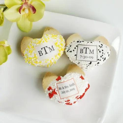 cheap wedding favors - cute fortune cookie favors