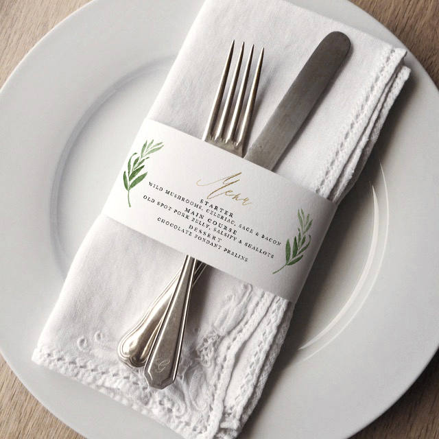 wedding place settings