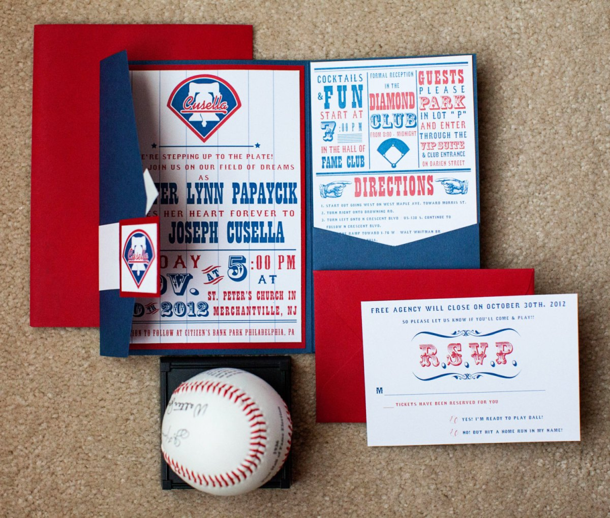 Baseball Wedding Gifts: 30 Grand Slam Baseball Wedding Ideas