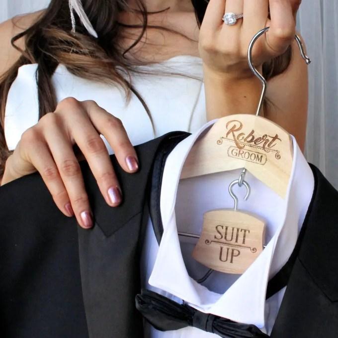 groom hanger