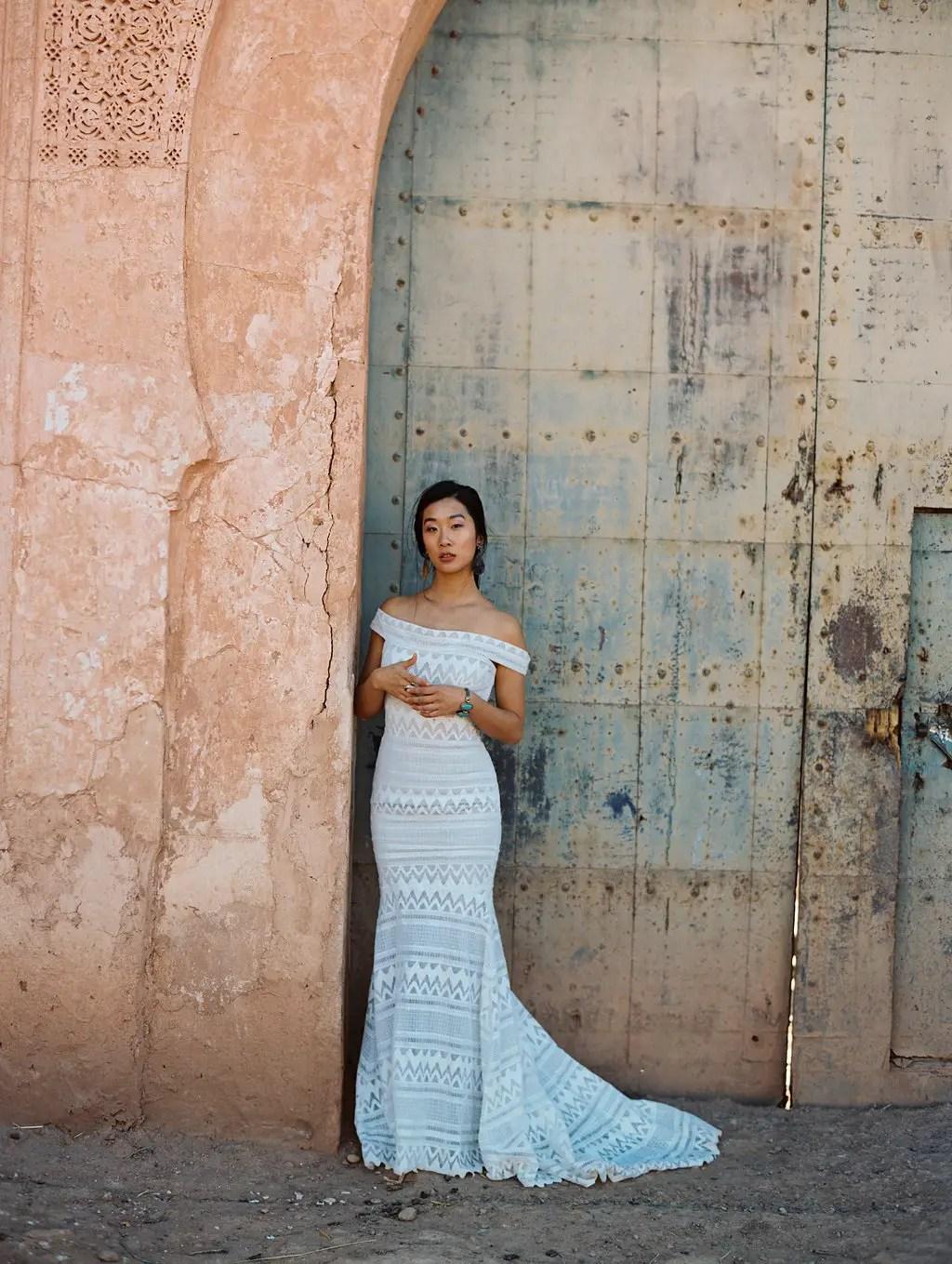 boho bridal gowns