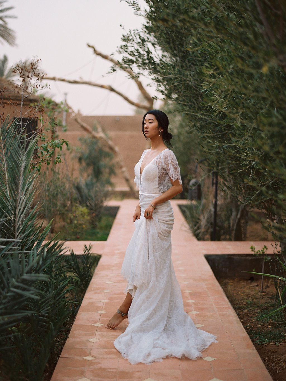 Boho Bridal Gowns from Wilderly Bride   Emmaline Bride Wedding Blog