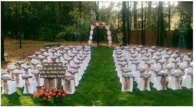 wedding decor rentals