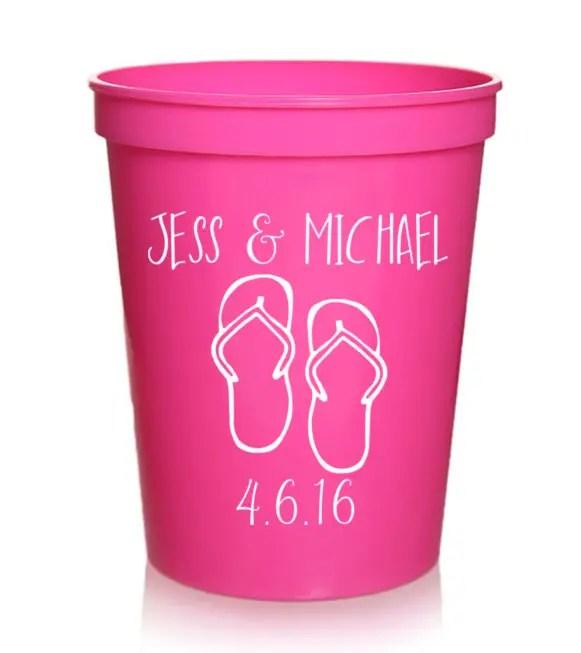custom printed cups and stadium cups