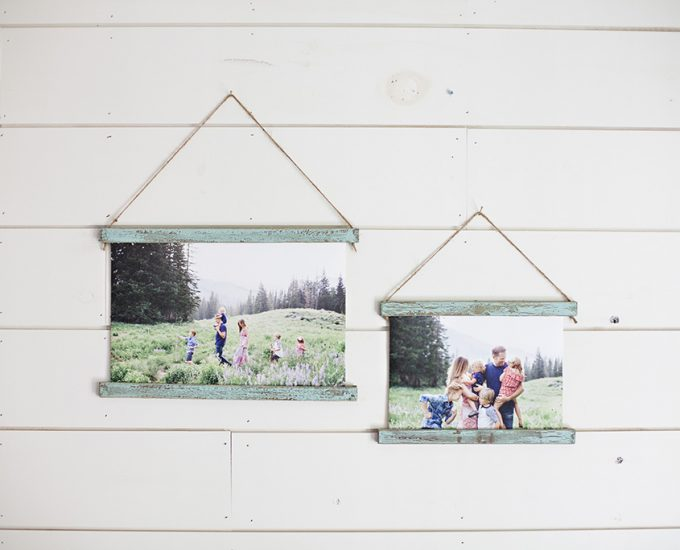 ceremony photo display