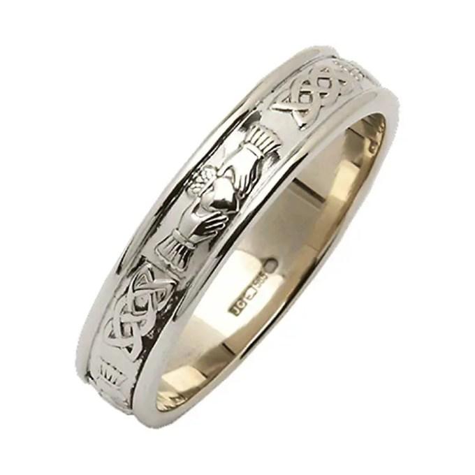 men's claddagh ring