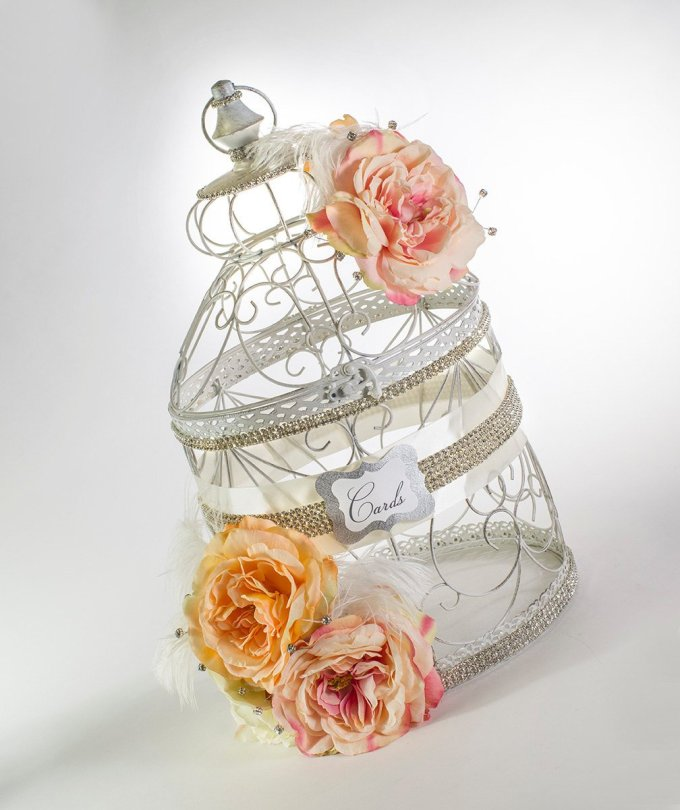 Birdcage Wedding Card Holder? -- Where to Buy a Bird Cage + What Size