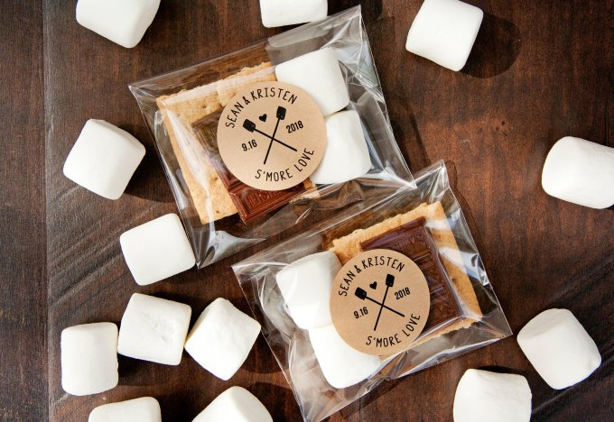 Wedding Take Home Gifts: DIY Smore Wedding Favor: How To Make Your Own Take-home S