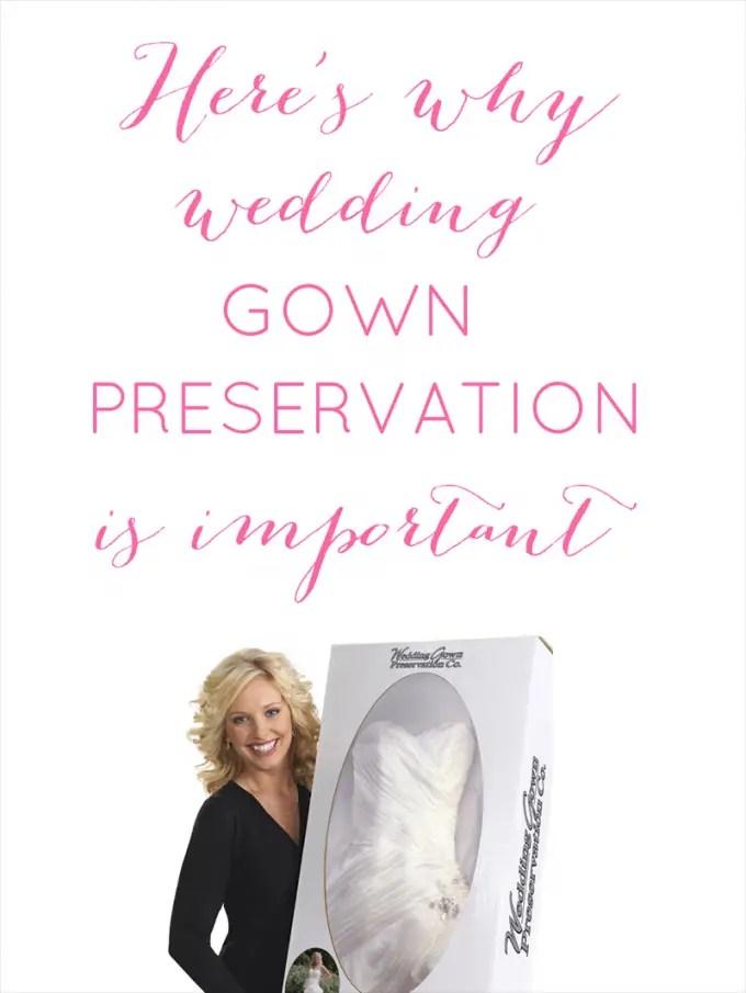wedding preservation