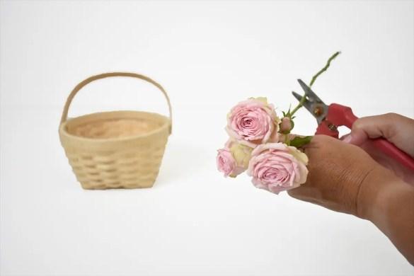 DIY Flower Basket for Your Wedding