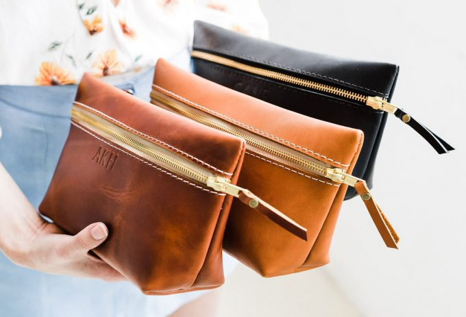 leather bags for bridesmaids