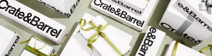 crate and barrel wedding registry