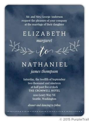 matching invitation