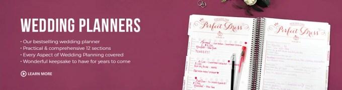 wedding organizer binder